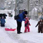 Zima 2017 v Brodku u Přerova