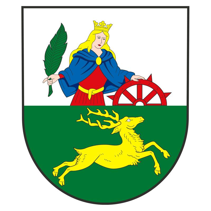 Znak městyse Brodek u Přerova, obrázek se otevře v novém okně